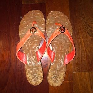 •Tory Burch• coral sandals